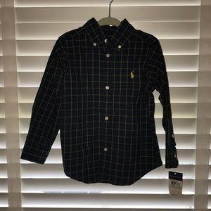 Boys bitten brown shirt